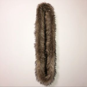 Mossimo faux fur infinity scarve